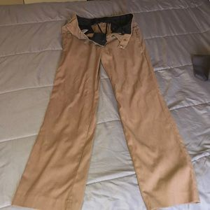 Men's Dress Pants Tan 30x32